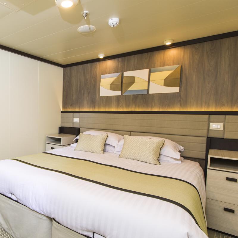 Larger Inside cabin - P&O Britannia