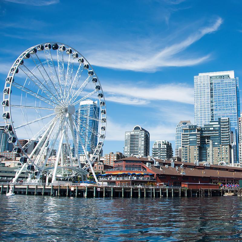 Seattle Great Wheel Seattle USA