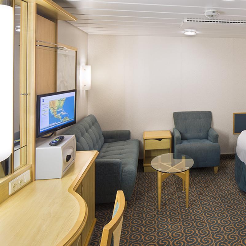 Inside Guarantee cabin - Explorer of the Seas