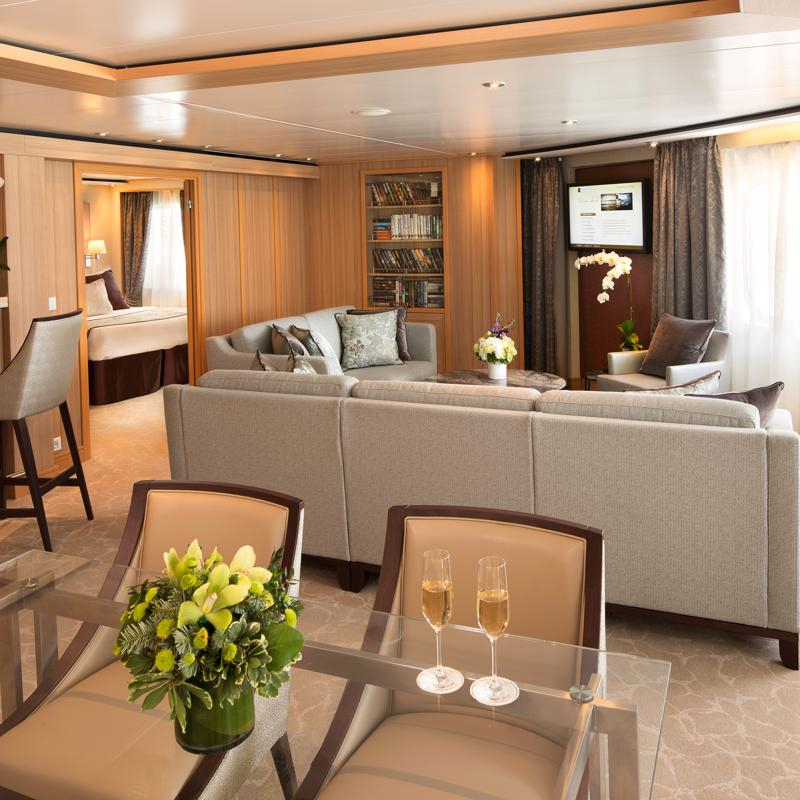 Grand Suite - Seabourn Ovation