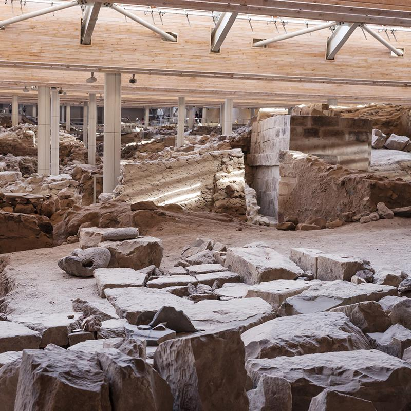 Archaeological Museum in Thira Santorini