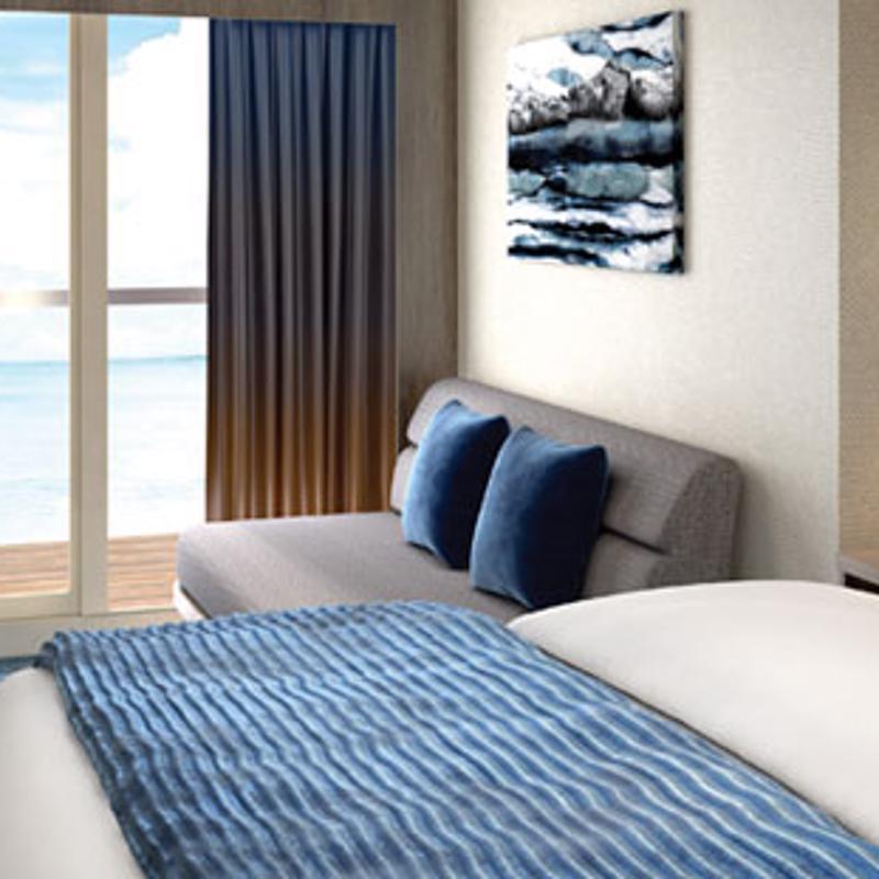 Guarantee Mini-Suite with Balcony - Norwegian Encore