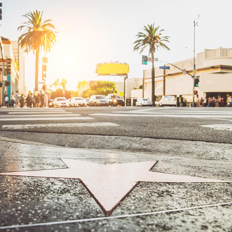 Hollywood Walk of Fame Los Angeles USA