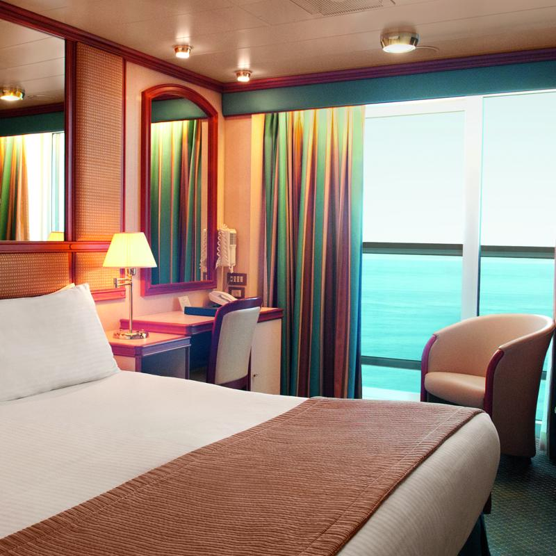 Balcony Double cabin - Crown Princess