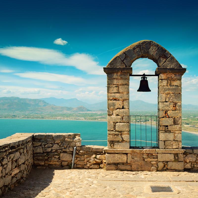 Palmidi Fortress Nafplio Greece
