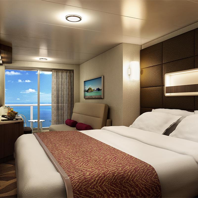 Aft-Facing Mini-Suite with Balcony - Norwegian Escape