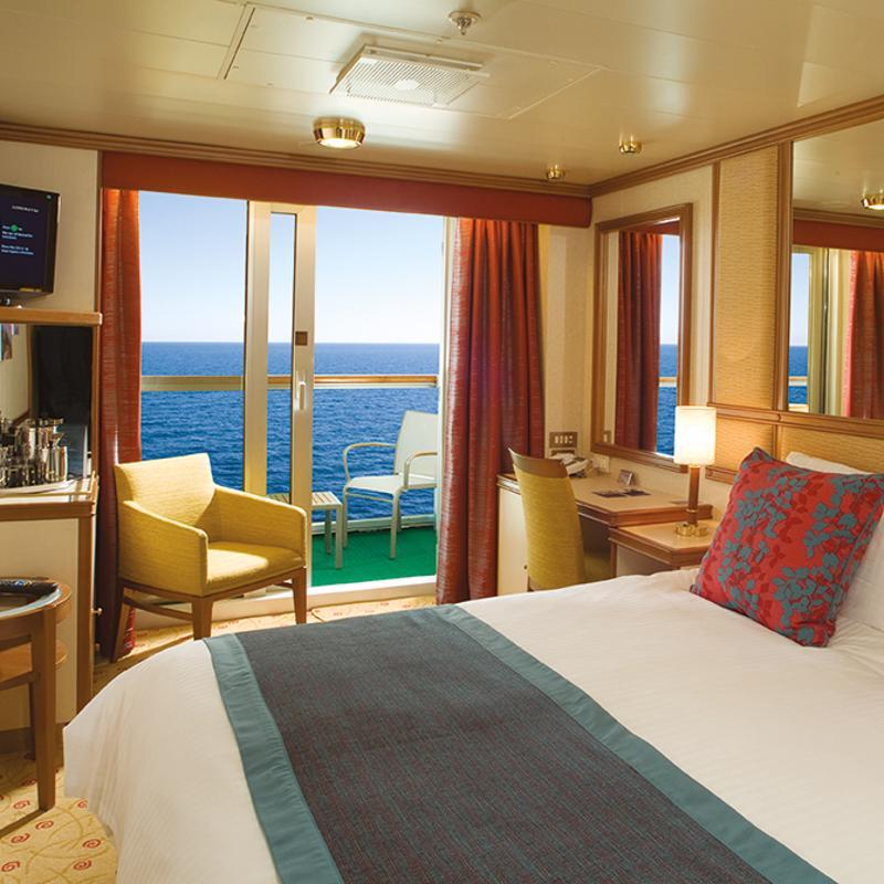 Balcony cabin - P&O Ventura