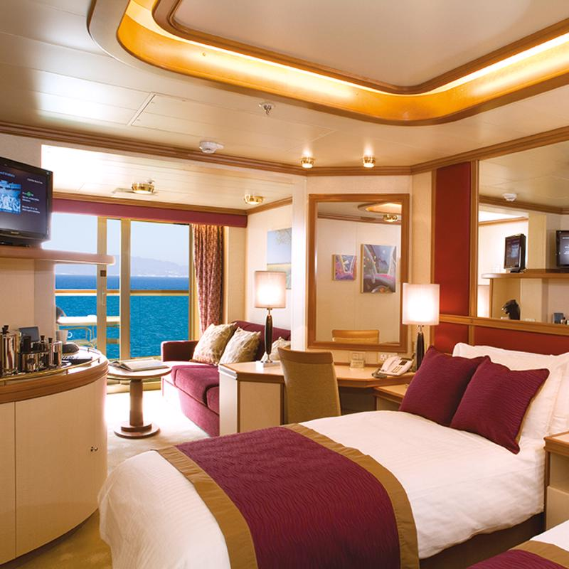 Superior Deluxe Balcony cabin - P&O Ventura