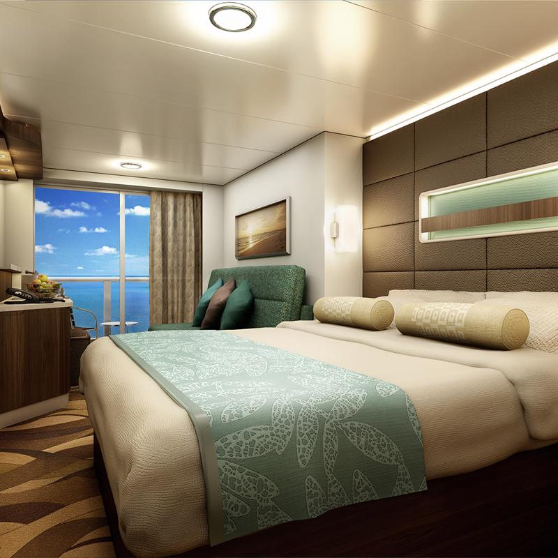 The Haven Deluxe Spa Suite with Balcony - Norwegian Escape