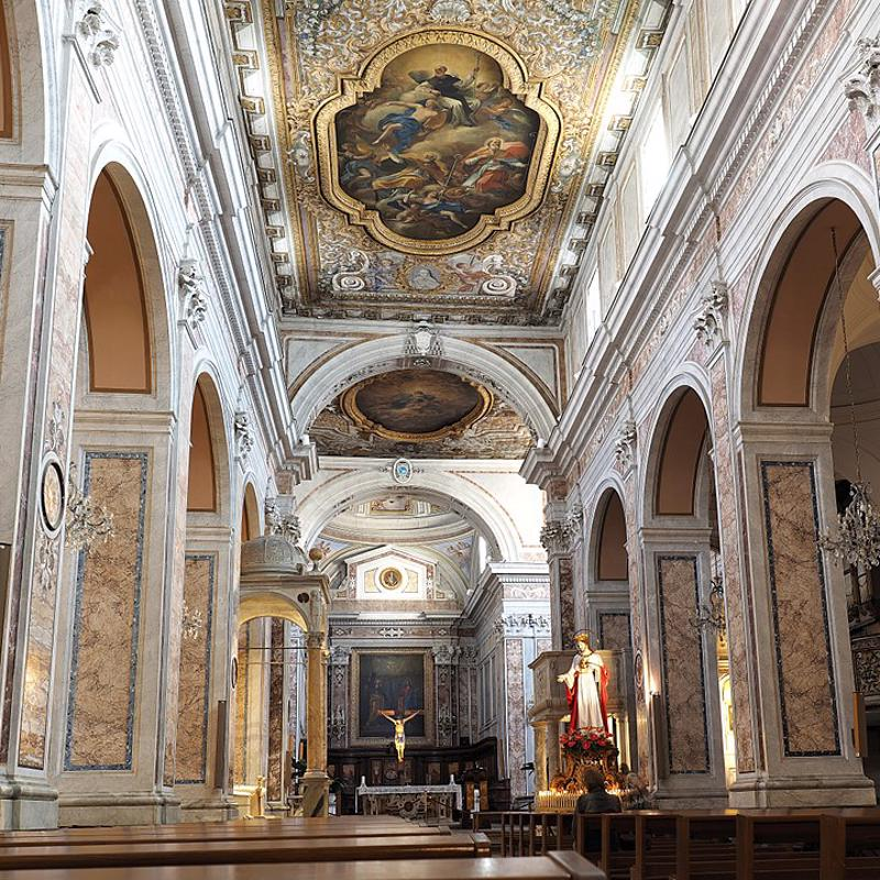 Cathedral of Sorrento Italy