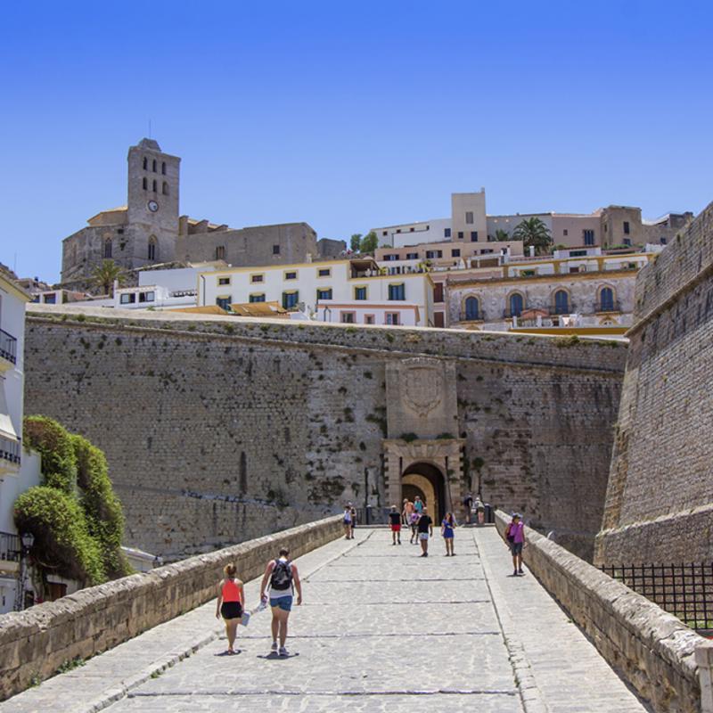 Dalt Vila Ibiza Town Spain