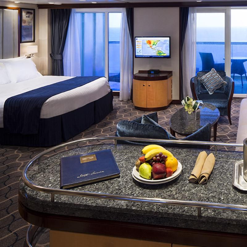 1 bedroom Grand Suite - Explorer of the Seas