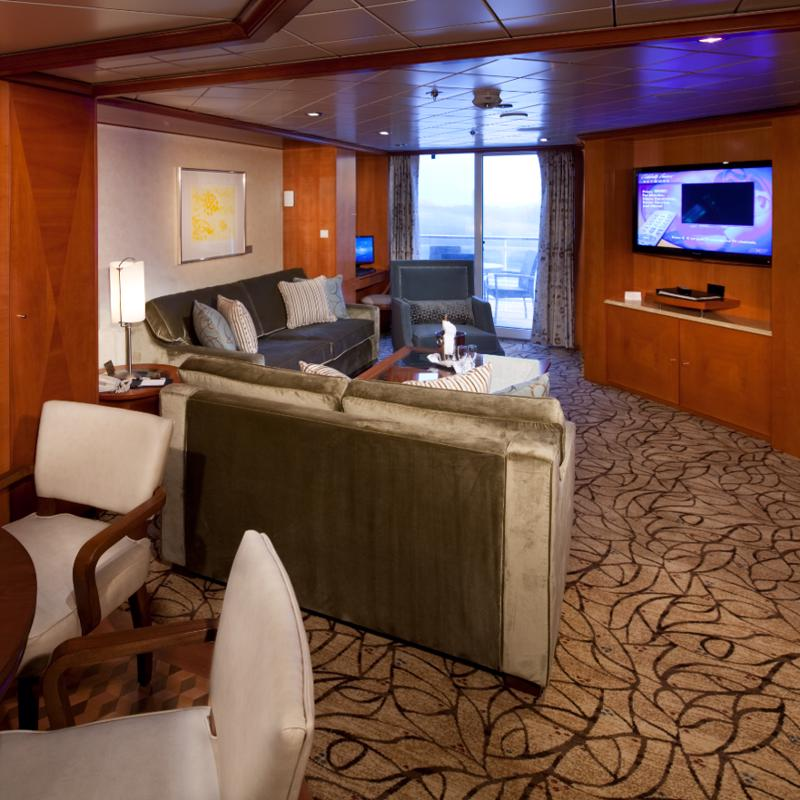 Royal Suite Celebrity Constellation