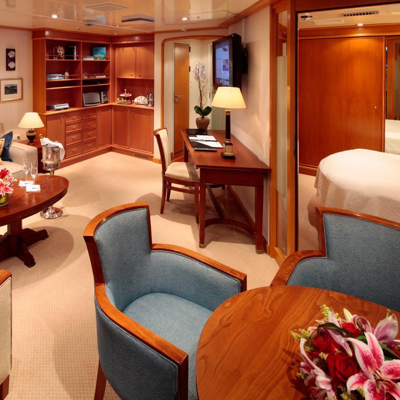 Owners Suite - SeaDream 2