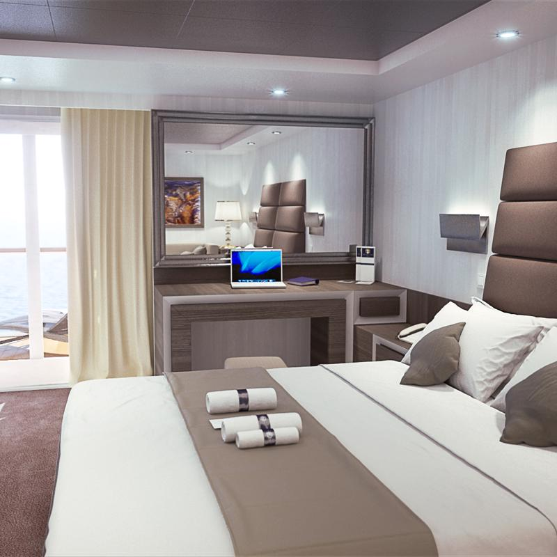 Yacht Club Executive Suite-MSC Preziosa