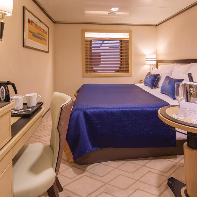 Atrium View Inside - Cunard Queen Mary 2