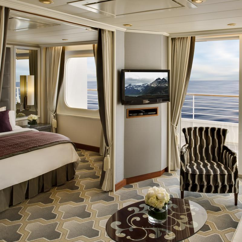 Penthouse Suite with Verandah - Crystal Serenity
