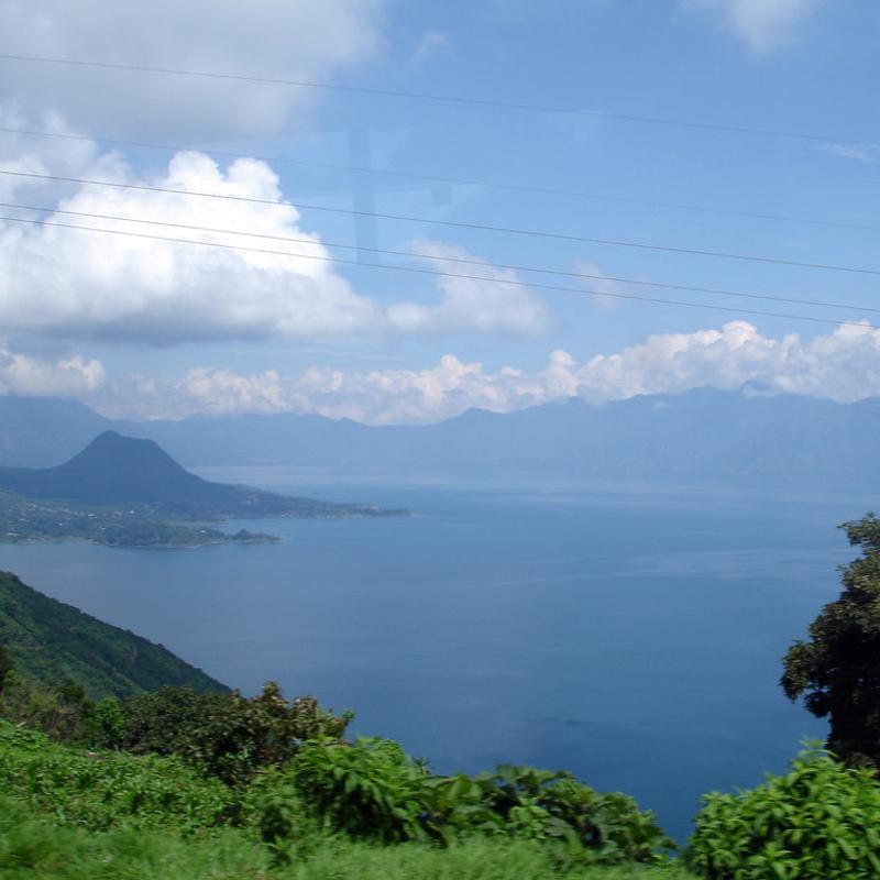 Lake Atitlan Puerto Quetzal Guatemala