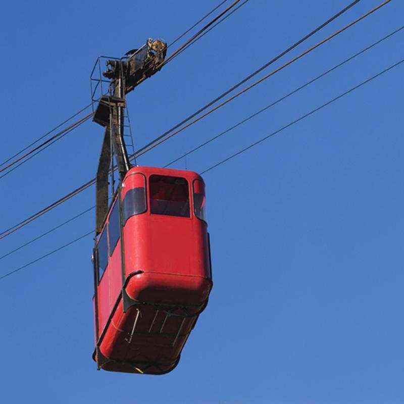 Mount Faron Cable Car Toulon France