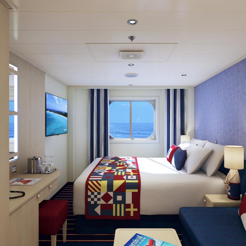 Family Harbour Deluxe Ocean View - Carnival Horizon