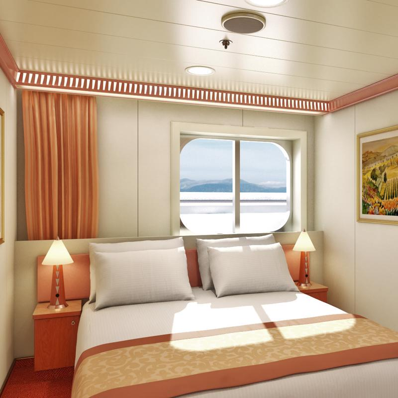 Interior with Picture Window - Carnival Conquest