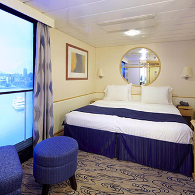 Interior with Virtual Balcony-Navigator of the Seas