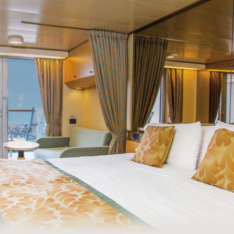 Deluxe balcony cabin -  P&O Arcadia