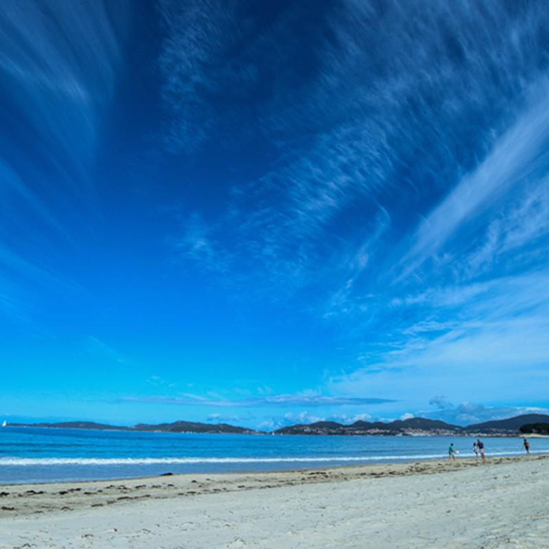 Samil Beach Vigo Spain