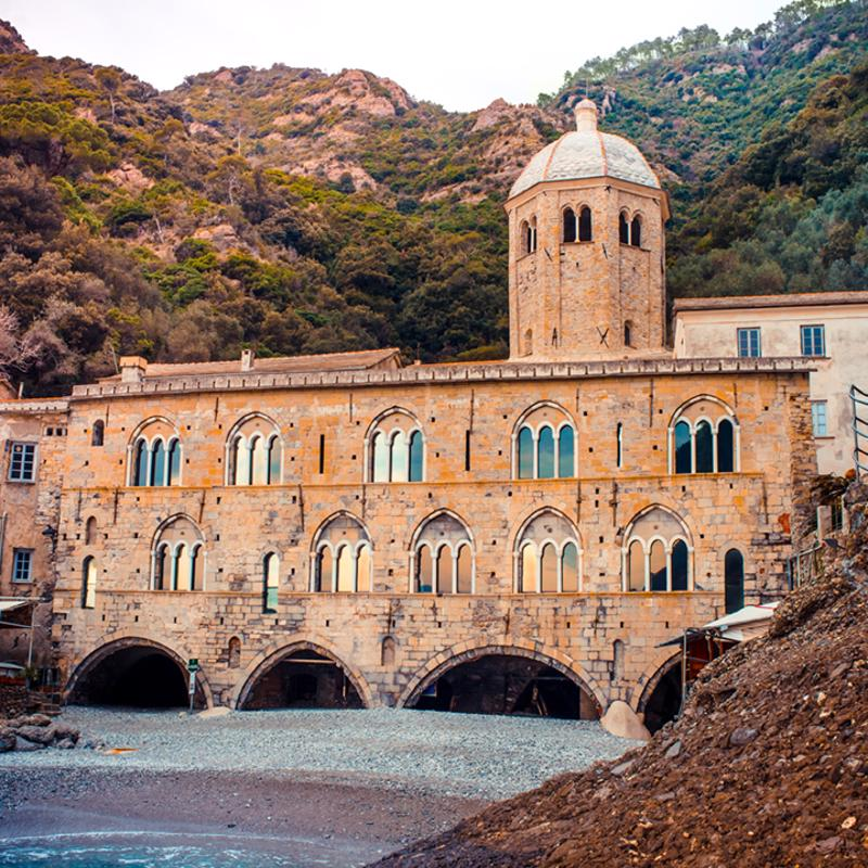 San Fruttuoso Abbey Portofino Italy
