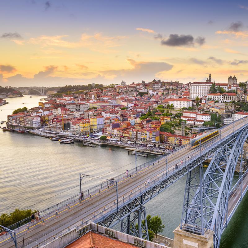 Luis I Bridge Porto Portugal