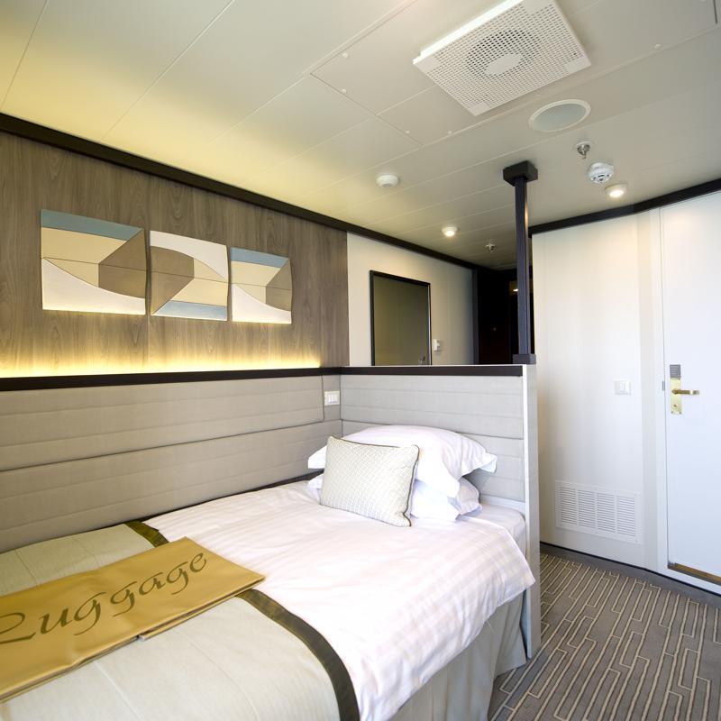 Single Inside cabin with shower - P&O Britannia