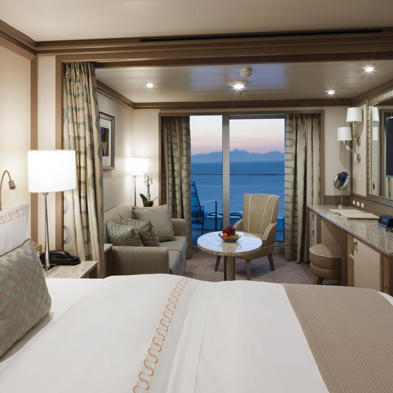 Midship Veranda Suite - Silver Wind