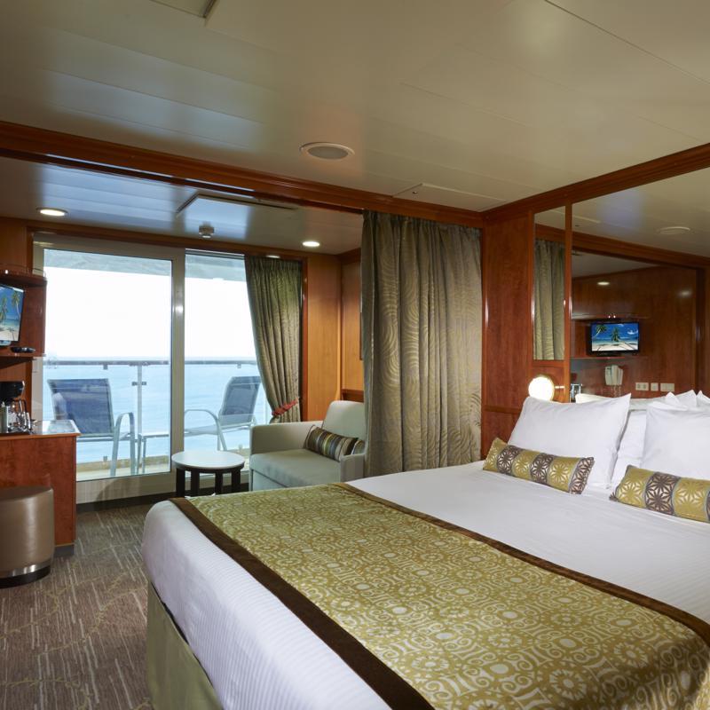 Mini-Suite with Balcony - Norwegian Dawn