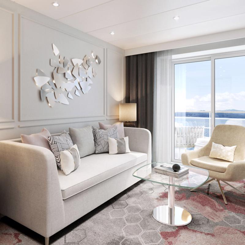 Seabreeze Penthouse Suite with Verandah - Crystal Symphony