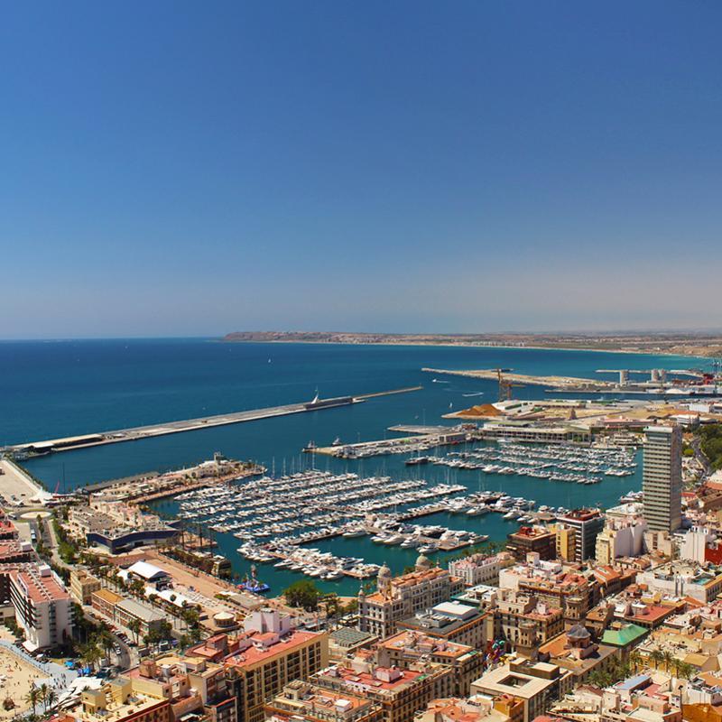 El Barrio Alicante Spain