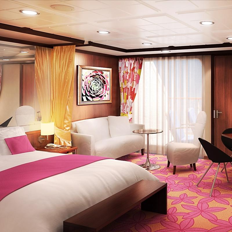 The Haven Courtyard Penthouse with Balcony - Norwegian Gem