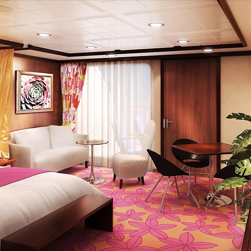 Forward-Facing Penthouse with Large Balcony-Norwegian Pearl