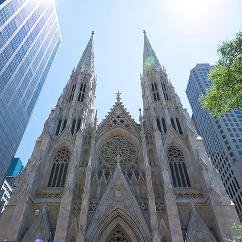 Saint Patricks Cathedral New York USA
