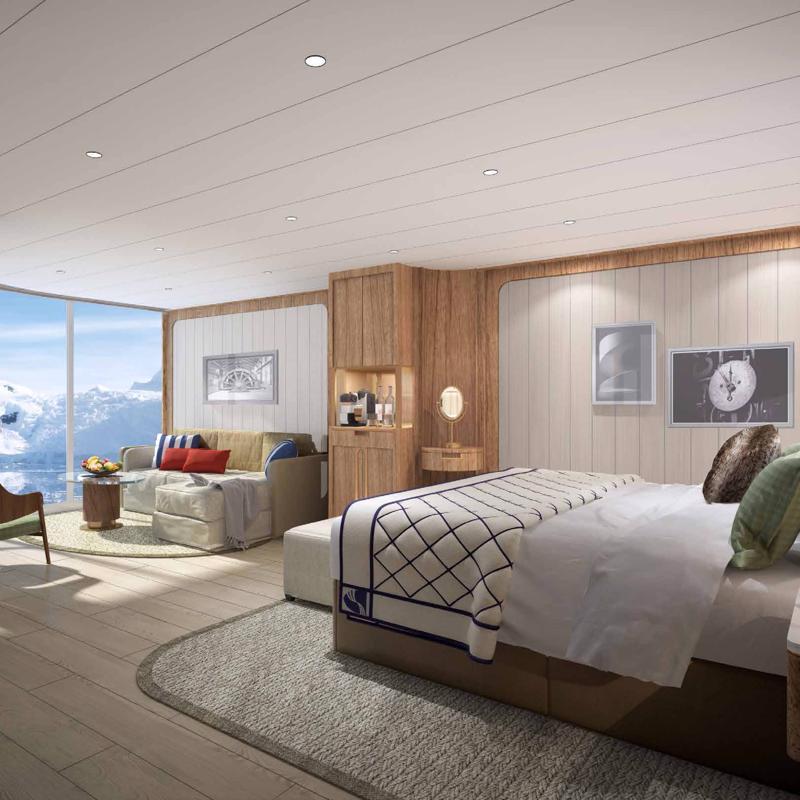 Panorama Veranda Suite Seabourn Venture
