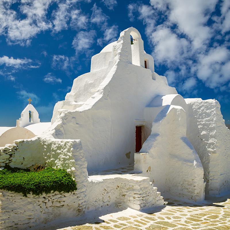 Paraportiani Church Mykonos Town Greece
