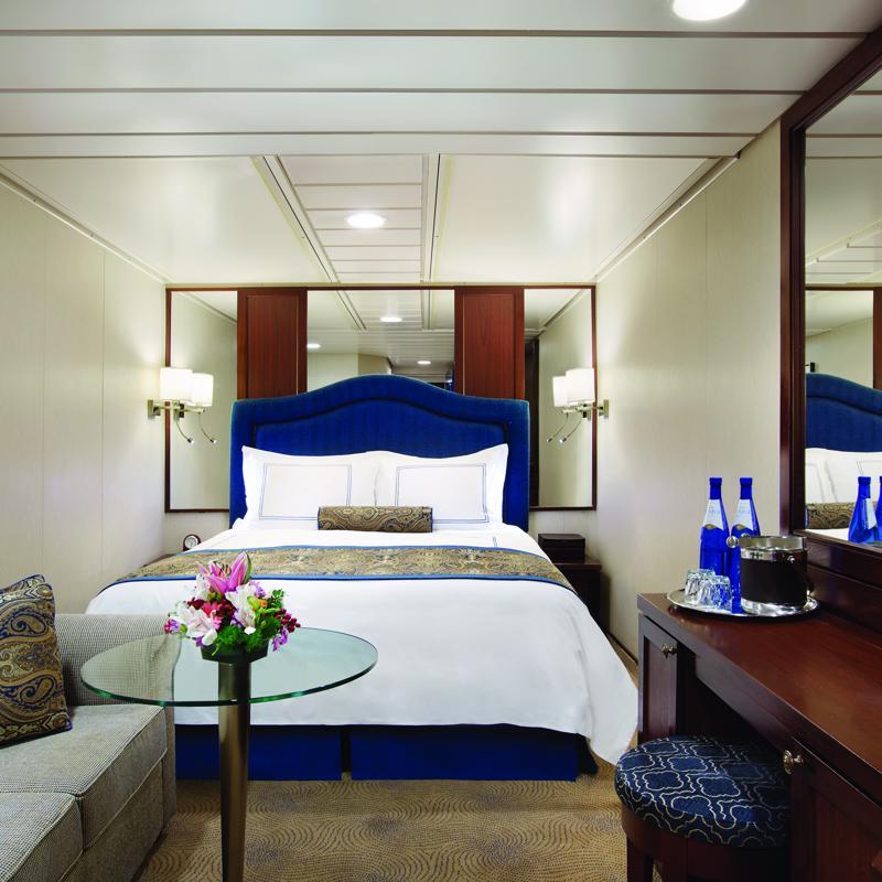 Inside Cabin - Oceania Regatta