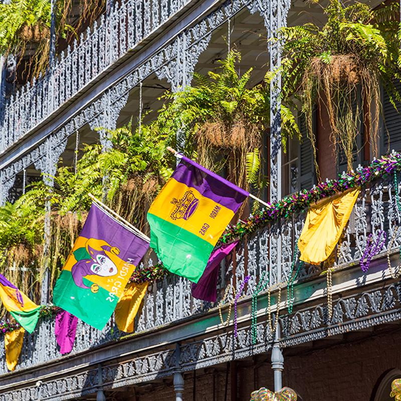 Mardis Gras World New Orleans USA