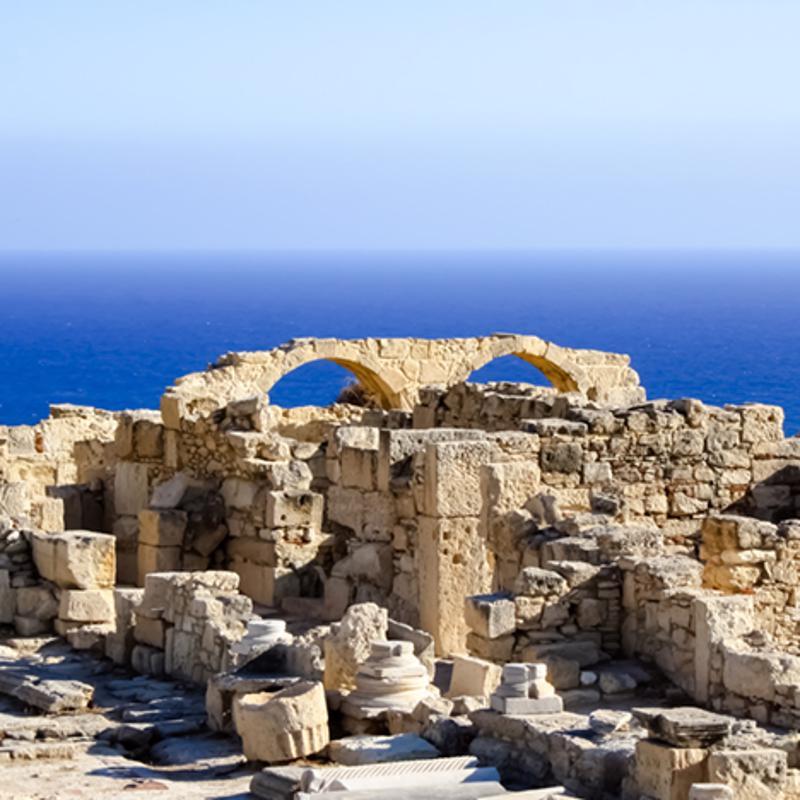 Kourion Archarology Park Limassol South Cyprus