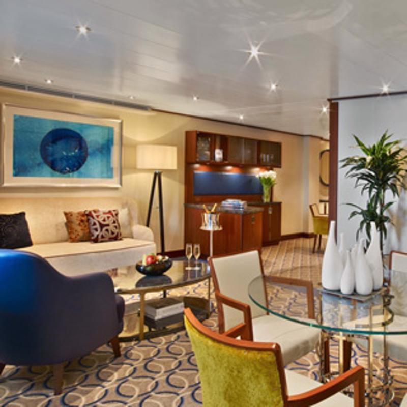 Owners Suite - Seabourn Ovation