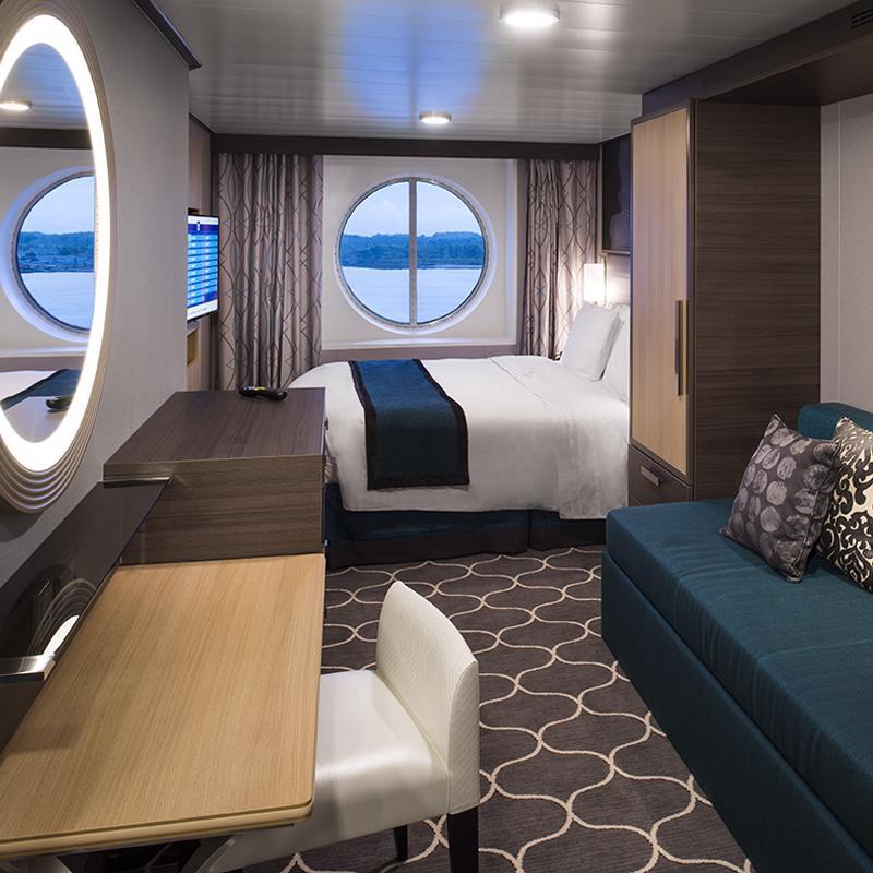 Ocean View Guarantee cabin - Allure of the Seas