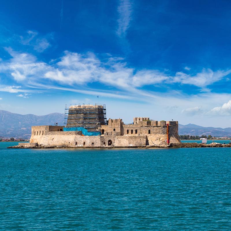 Bourtzi Castle Greece