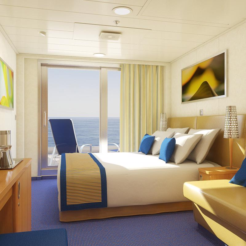 Aft View Extended Balcony Carnival Sunshine