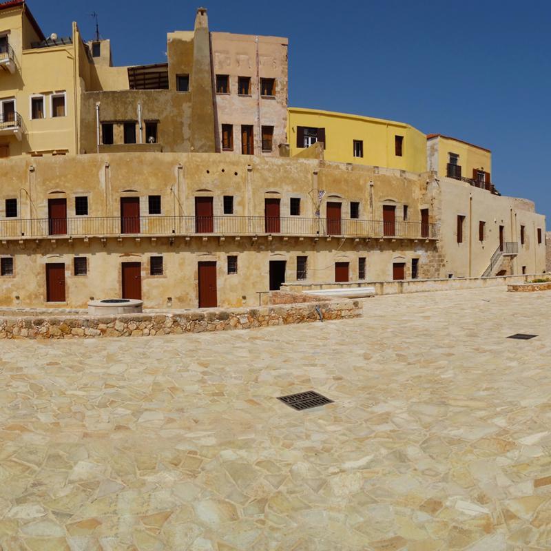 Firka Fortress Chania Crete Greece