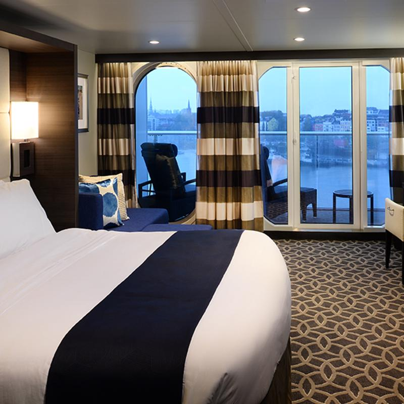 Junior Suite with Large Balcony - Quantum of the Seas