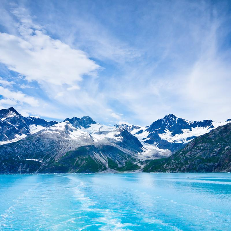 Glacier Bay Juneau Alaska